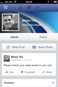 MotorTex Facebook page
